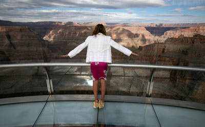 Skywalk im Grand Canyon