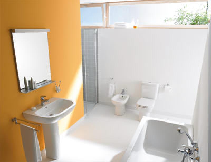 Badezimmer, Baddesign, Sanitärkeramik, Bad, Duravit, Wasserbecken, Badewanne, WC, Bidet, Waschbecken, Waschtisch