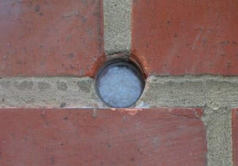 Kerndämmung mit Nanogel, mehrschalige Wand nachträglich dämmen, zweischaliges Mauerwerk, Luftschicht, Verklinkerung, Klinker, Außenwand, Hintermauerwerk