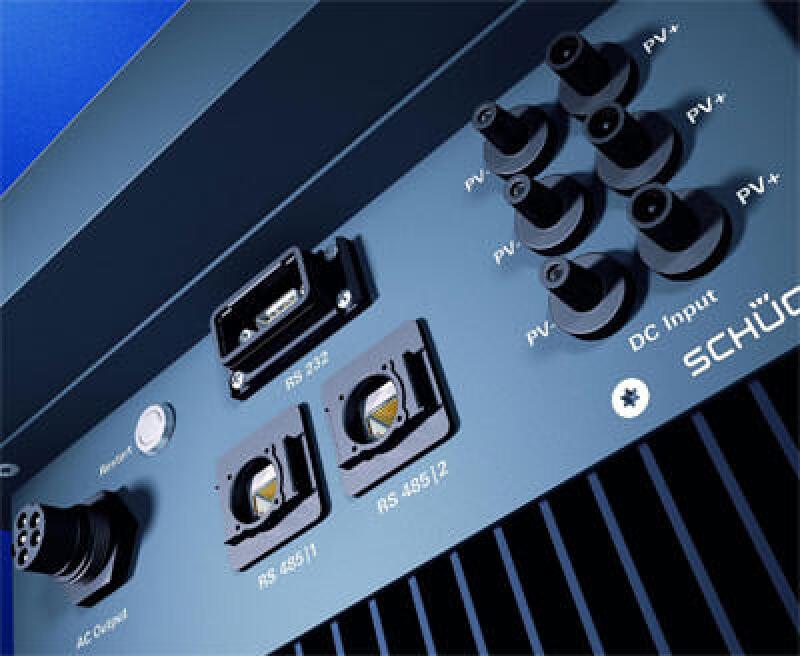 Wechselrichter, Solartechnik, Gleichstrom, Photovoltaik, Solarstrom, Wechselstrom, trafolose Wechselrichter, Solar Grid Inverter