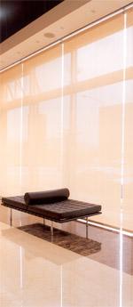 Vorhang, innenliegender Sichtschutz