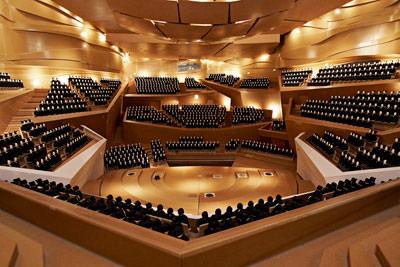 Konzertsaal von Danmarks Radio, DR Byen, Kopenhagen