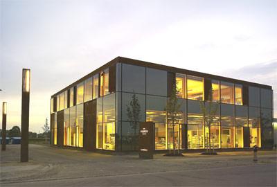 Deutscher Stahlbaupreis 2008, Stahlbau, Architekturbüro Regina Schineis Architekten BDA, Architekturpreis, Solitär, Stahlstützen