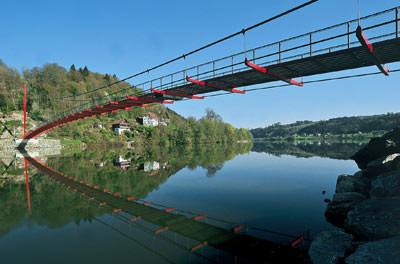 Geh- und Radwegbrücke 'Mariensteg', Dipl.-Ing. Erhard Kargel, Linz, Österreich