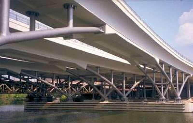 Humboldthafenbrücke, Deutscher Brückenbaupreis, Brückenbau, Straßenbrücke, Eisenbahnbrücke