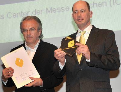 Bundesbauminister Wolfgang Tiefensee, DGNB Präsident Prof. Dr.-Ing. Werner Sobek