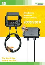 """Spelsberg Katalog """"Anschluss-Systeme Photovoltaik 2009/2010"""""""