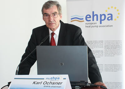 Karl Ochsner, European Heat Pump Association – EHPA