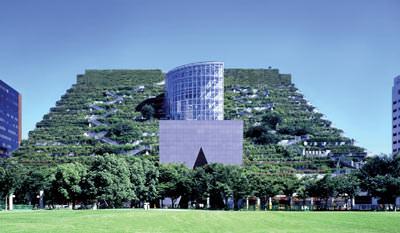 Fukuoka Prefectural International Hall in Japan
