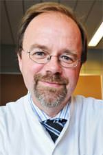 Professor Dr. med. Jörg Braun, Chefarzt der I.Medizinischen Abteilung der Asklepios Klinik Wandsbek
