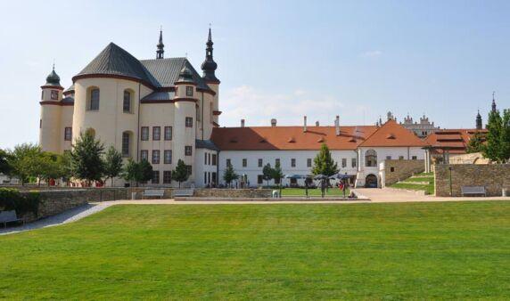 Historische Klostergärten in Litomyšl