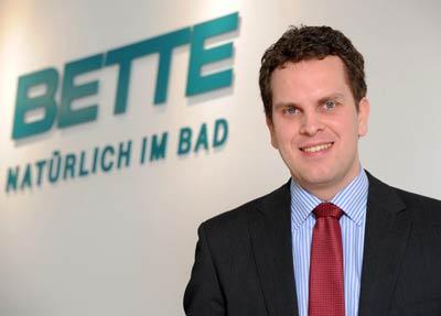 Thilo Constantin Pahl, Bette GmbH & Co. KG, geschäftsführender Gesellschafter