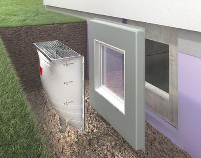 ACO Therm Block Kellerschutzsystem