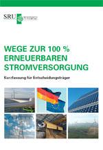 SRU-Studie: Wege zur 100% erneuerbaren Stromversorgung