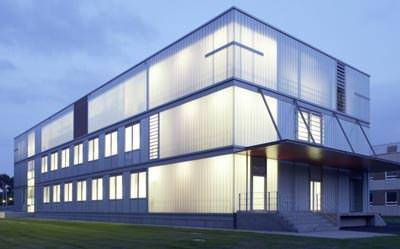 Profilglas-Fassade