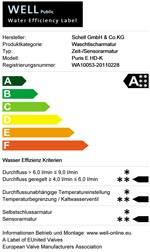 Klassifizierungslabel WELL (Water Efficiency Labelling)