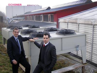 Ochsner Senior und Junior sowie der Toppump Splitverdampfer