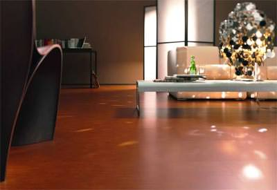 Veledo: Leder-Fußboden / Lederboden aus recyceltem Leder
