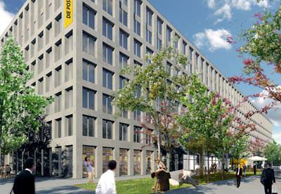 Dienstleistungsgebäude WankdorfCity Majowa, Bern (c) atelier ww & Losinger Construction AG