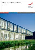 Titelbild der Referenzdokumentation für Zehnder Heiz- und Kühldecken-Systeme erschienen