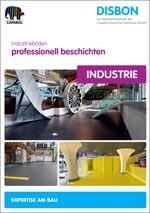 Broschürentitel:  Industrieböden professionell beschichten