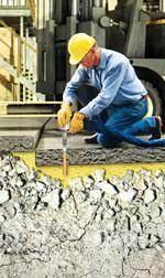 FloorLift: Injektionshebetechnik für abgesackte Betonböden