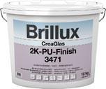 Wandbeschichtung CreaGlas 2K-PU-Finish 3471