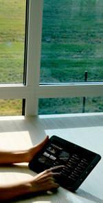 Dimmbares Sonnenschutzglas von EControl