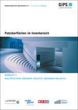 """Merkblatt Nr. 3 der Industriegruppe Baugipse """"Putzoberflächen im Innenbereich"""""""