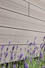 Fassadensystem O-Wall aus dem Holz-Kunststoffverbundwerkstoff Twinson