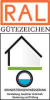 """RAL Gütezeichen """"Grundstücksentwässerung"""" zum Schutz für Grundwasser, Boden und Gewässer"""