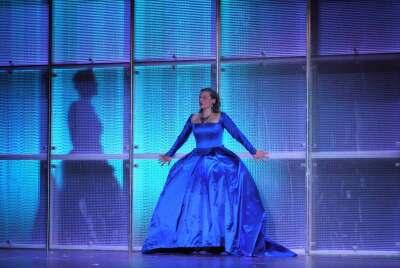 Bühnenbild von 'Maria Stuart' im Theater Osnabrück