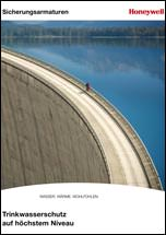 """Titel: Broschüre """"Trinkwasserschutz auf höchstem Niveau"""""""