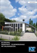 Broschüre über Passivhäuser in Kalksandstein-Bauweise