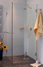 Combia Duschkabinen-Serie mit fugenbündigen Glasaußenkantenmaßen