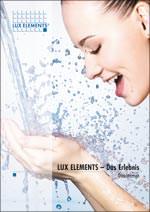 Broschüre über bodengleiche Duschtassen