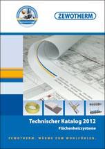 Technisches Handbuch zu Flächenheizsystemen von Zewotherm
