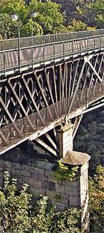 Wahrzeichen der Ingenieurbaukunst: König-Ludwig-Brücke in Kempten