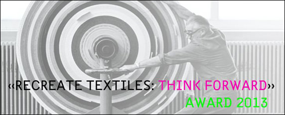 "Think Forward Wettbewerb von Création Baumann: ""Recreate Textiles: Think Forward"""