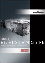"""Broschüre """"Unsere edelsten Steine. Die Bockhorn Designlinie in Ringofenoptik"""""""