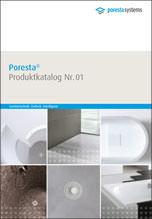 Poresta Produktkatalog Nr. 01