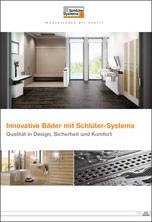 Innovative Bäder mit Schlüter-Systems