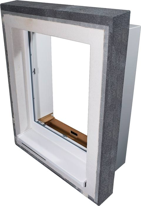 multifunktionales Prefab Fensterelement