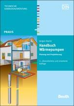 Fachbuch-Cover: Handbuch Wärmepumpen- Planung und Projektierung