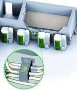 motorlose Umschalteinheit ÖkoFEN Pellets-Switch für Mehrkesselanlagen