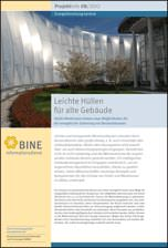 """BINE-Projektinfo """"Leichte Hüllen für alte Gebäude"""" (08/2012)"""