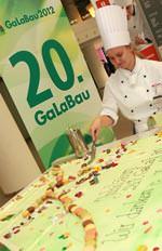 Geburtstagstorte zur 20. GaLaBau - Fachmesse Urbanes Grün und Freiräume