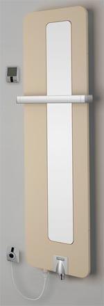 Designraumwärmer Optotherm Mix mit der Elektrolösung WIR