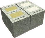 14 DF Mauerwerkstein 2K-Kombi von Jasto