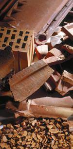 Dachsubstrate in der Düngemittelverordnung 2012 wieder mit recycelten Dachziegel und Ziegelsteinen